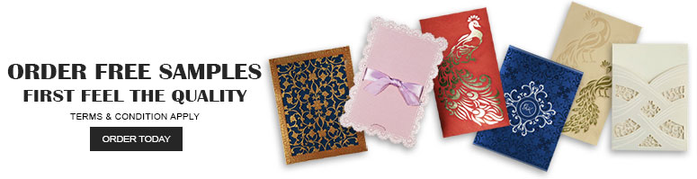 Order Free Samples Offer-IndianWeddingCards